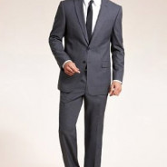 Slim Fit Machine Washable & Tumble Dry Suit with Wool