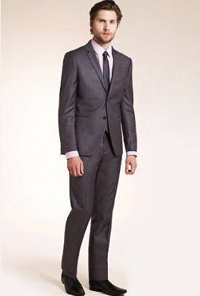 Limited Collection Super Slim Fit 2 Button Suit - Slim Suits for Men