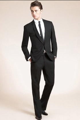 limited collection slim fit 1 button dinner suit   slim