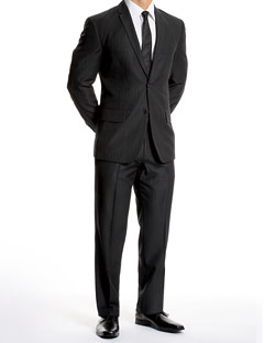 Black Suits by Slim Suits for Men
